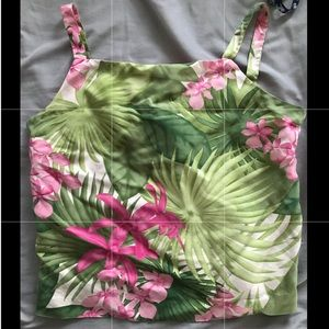 tommy bahama tank top 100% silk S